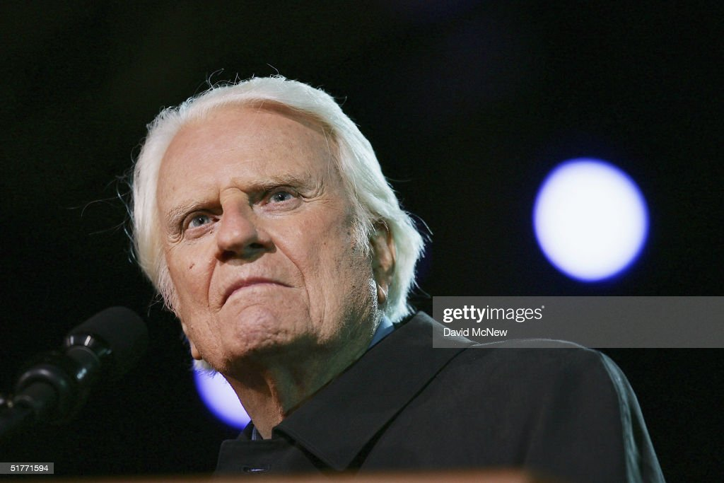 Billy Graham Continues Crusade At 86