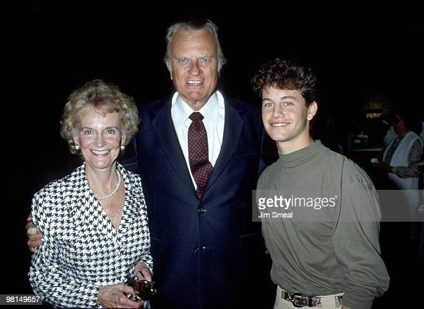 Billy Graham , wife Ruth and Kirk Cameron