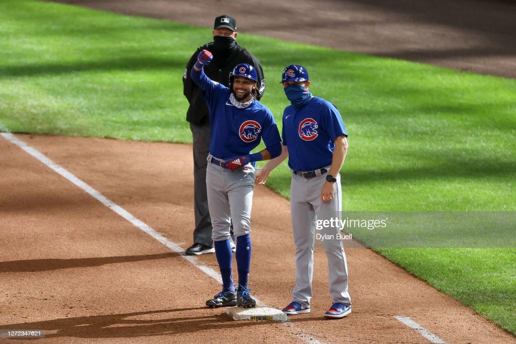 Chicago Cubs v Milwaukee Brewers : News Photo