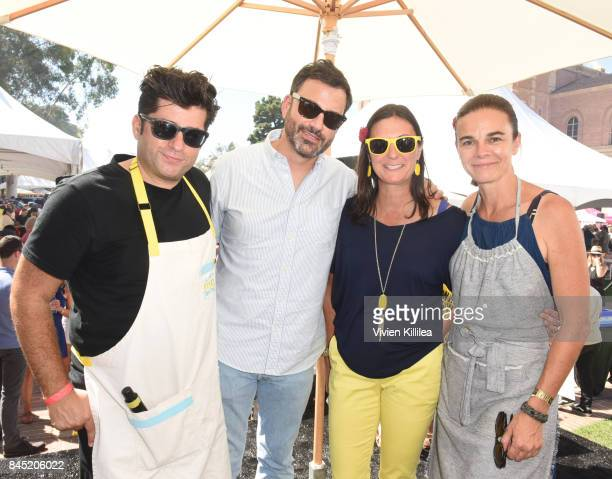 Billy Harris Jimmy Kimmel Alex's Lemonade Stand Foundation CoExecutive Director Liz Scott and Suzanne Goin attend the 8th Annual LA Loves Alex's...