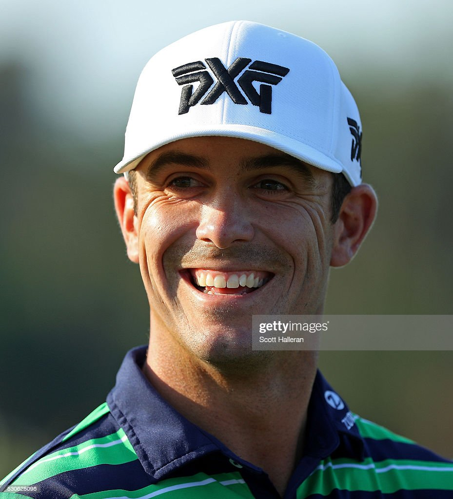 Billy Horschel in action during a practice round prior to THE PLAYERS Championship at the TPC Stadium course on May 11, 2016 in Ponte Vedra Beach, Florida.