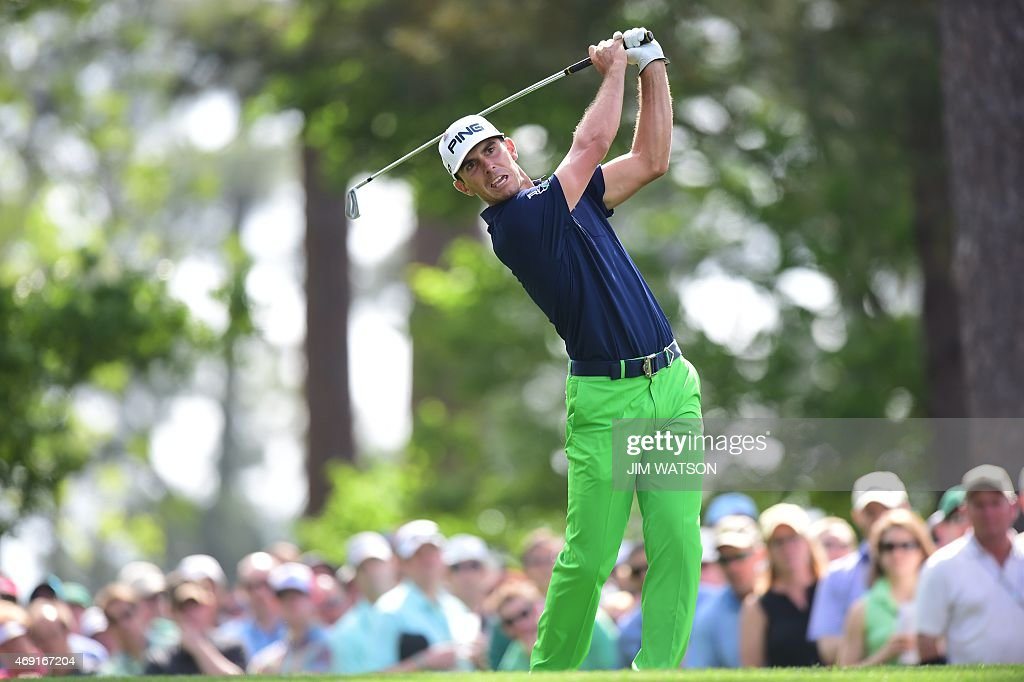 GOLF-US-MASTERS-ROUND2 : News Photo