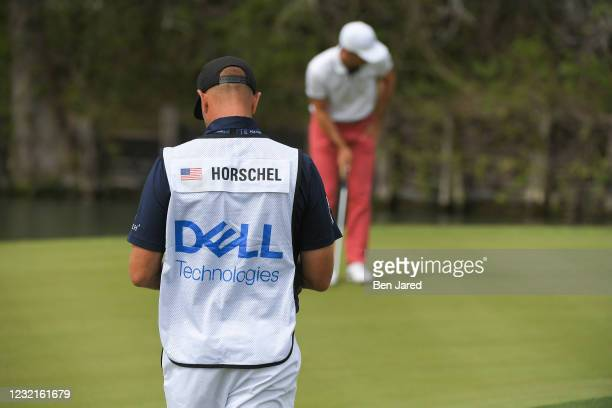 Billy Horschel plays the 12th green during the semifinal match at the World Golf Championships-Dell Technologies Match Play at Austin Country Club on...