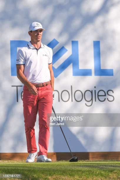 Billy Horschel stands on the 15th tee box during the championship match at the World Golf Championships-Dell Technologies Match Play at Austin...