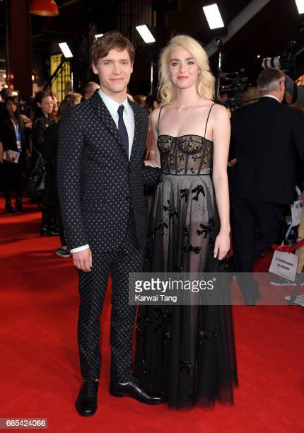 Billy Howle and Freya Mavor attend the Gala screening of The Sense of an Ending at Picturehouse Central on April 6 2017 in London England
