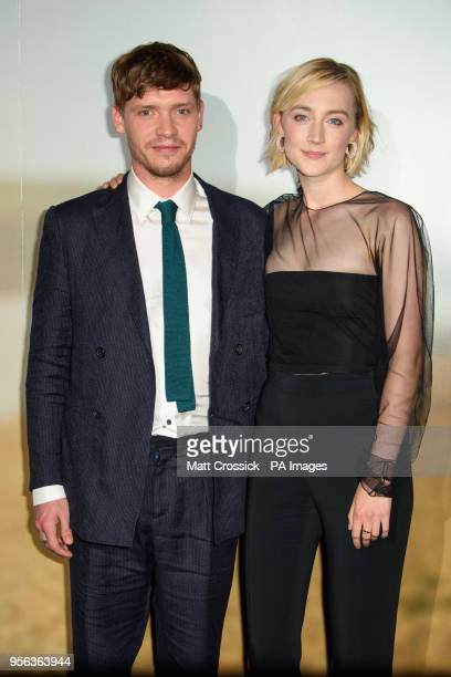 Billy Howle and Saoirse Ronan attending a special screening of On Chesil Beach at the Curzon Mayfair London PRESS ASSOCIATION Photo Picture date...