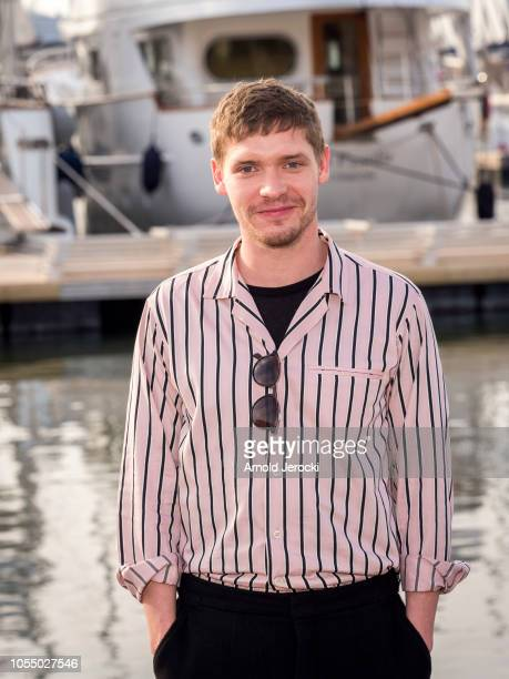 Billy Howle attend the Motherfatherson photocall as part of the MIPCOM 2018 on October 15 2018 in Cannes France