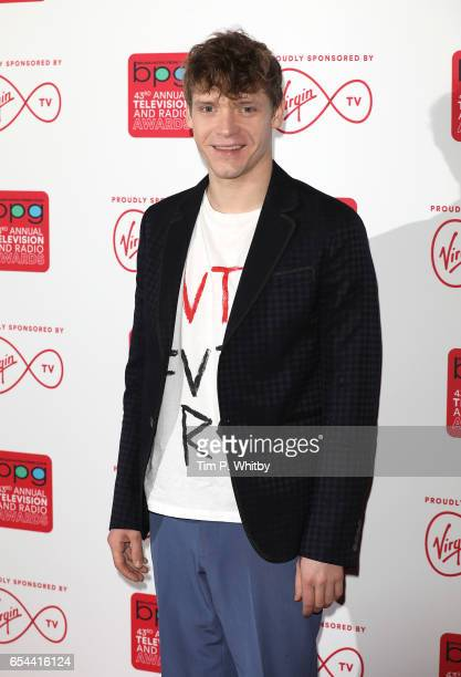 Billy Howle attends the Broadcasting Press Guild Television Radio Awards at Theatre Royal on March 17 2017 in London England