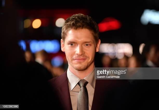 Billy Howle attends the European Premiere of Outlaw King Headline gala during the 62nd BFI London Film Festival on October 17 2018 in London England