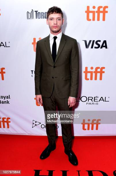 Billy Howle attends the Outlaw King premiere during the 2018 Toronto International Film Festival at Roy Thomson Hall on September 6 2018 in Toronto...