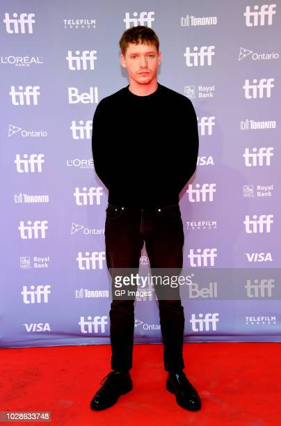 Billy Howle attends the Outlaw King press conference during 2018 Toronto International Film Festival at TIFF Bell Lightbox on September 7 2018 in...