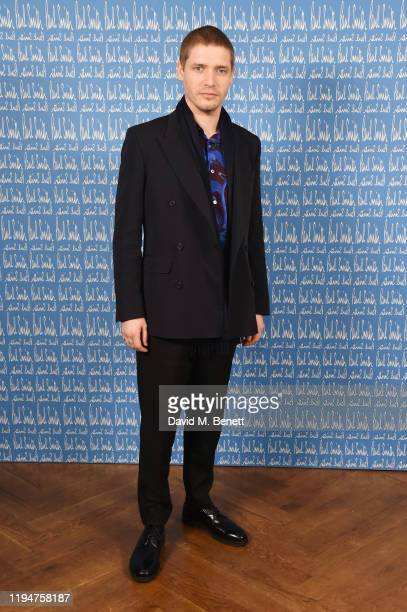 Billy Howle wearing Paul Smith attends the Paul Smith AW20 50th Anniversary show as part of Paris Fashion Week on January 19 2020 in Paris France