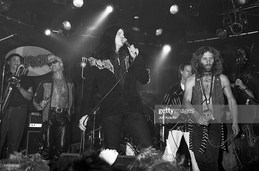 Billy Idol and Ian Astbury perform with Robby Krieger of The Doors  sc 1 st  Getty Images & MTV Premiere of