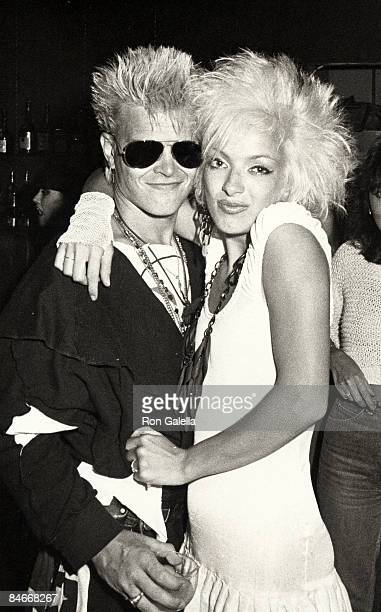 Billy Idol and Perri Lister