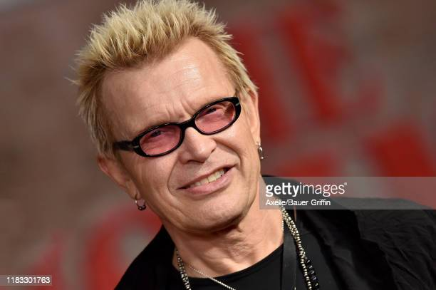 """Billy Idol attends the Premiere of Netflix's """"The Irishman"""" at TCL Chinese Theatre on October 24, 2019 in Hollywood, California."""