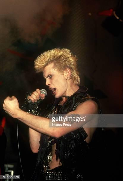 Billy Idol circa 1983 in New York City.