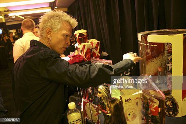 Billy Idol during 2005 Fashion Rocks Talent Gift Lounge Produced by On 3 Productions Day 2 at Radio City Music Hall in New York City New York United...