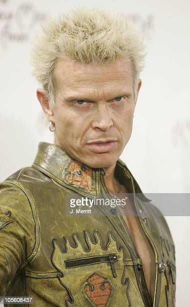Billy Idol during 32nd Annual American Music Awards Press Room at Shrine Auditorium in Los Angeles California United States