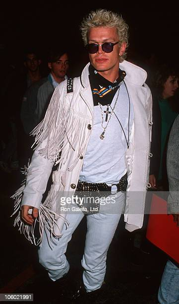 Billy Idol during Billy Idol Sighted at China Club in New York City December 26 1989 at China Club in New York City New York United States