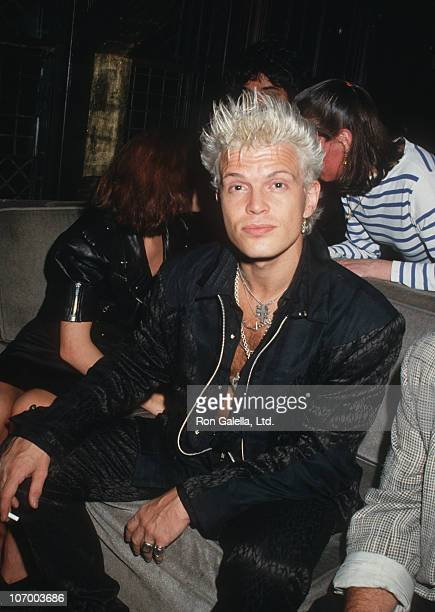 Billy Idol during Billy Idol Sighted at The Limelight Club in New York City - June 2, 1987 at The Limelight Club in New York City, New York, United...