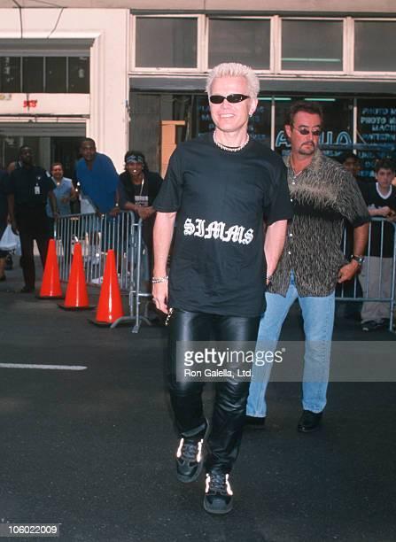 Billy Idol during MTV Celebrates 20th Anniversary at Hammerstein Ballroom in New York City New York United States