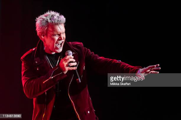 Billy Idol performs at Palace of Fine Arts Theatre on March 08, 2019 in San Francisco, California.
