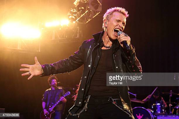 Billy Idol performs during the 2015 Sweetlife Festival at Merriweather Post Pavillion on May 30, 2015 in Columbia, Maryland.
