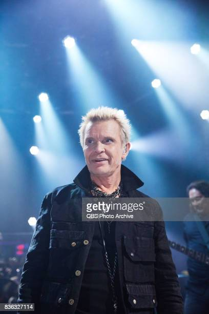 Billy Idol performs during 'The Late Late Show with James Corden' Thursday August 17 2017 On The CBS Television Network
