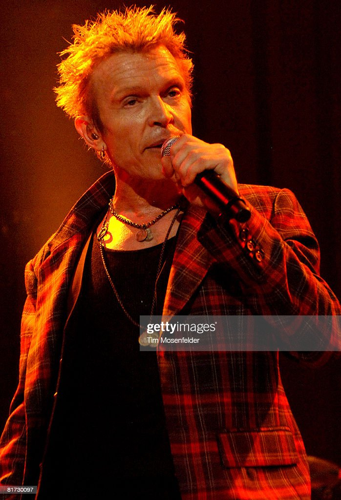 Billy Idol Performs In Support Of His Idolize Yourself Release At