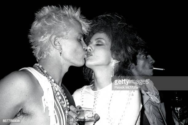 Billy Idol Perri Lister Perri Lister's Birthday Party Cat Club NYC April 10 1984