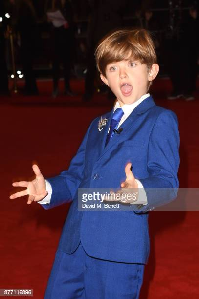 Billy Jenkins attends the World Premiere of season 2 of Netflix 'The Crown' at Odeon Leicester Square on November 21 2017 in London England
