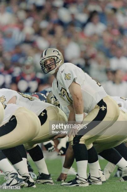 Billy Joe Hobert Quarterback for the New Orleans Saints during the National Football League pre season game against the Denver Broncos on 14 August...
