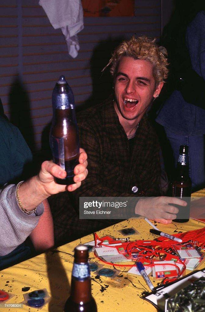 Billy Joe of Green Day in New York City, New York