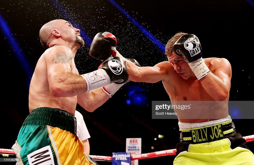 Dereck Chisora v Malik Scott - Heavyweight Fight
