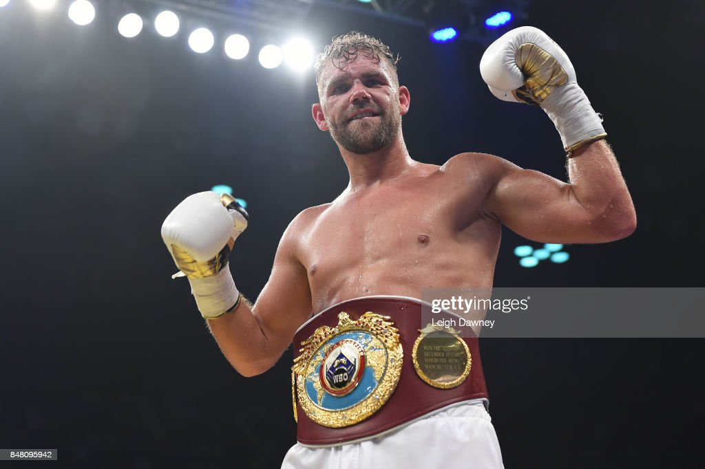 Billy Joe Saunders defeats Willie Munroe Jr for the WBO World Middleweight Title fight at Copper Box Arena on September 16, 2017 in London, England.