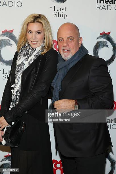 Billy Joel and Alexis Roderick attend the opening night of The Last Ship on Broadway at The Neil Simon Theatre on October 26 2014 in New York City