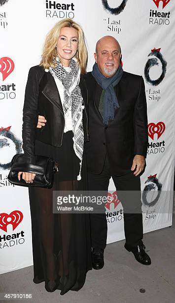 Billy Joel and his girlfriend Alexis Roderick attend the Broadway Opening Night performance of 'The Last Ship' at the Neil Simon Theatre on October...