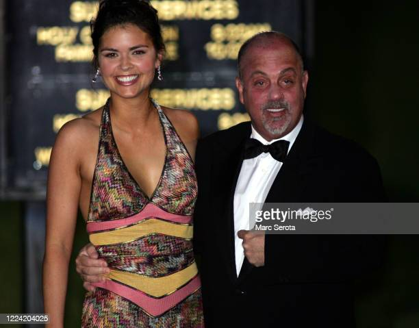 Billy Joel and his wife arrive at the BethesdabytheSea Episcopal Church for the wedding of Donald Trump to Slovenian model Melanai Knauss in Palm...