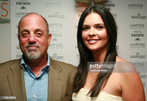Billy Joel and Katie Lee Joel during Hamptons Magazine and Christopher Designs Celebrate with Hamptons Cover Star Katie Lee Joel at Cain Night Club...