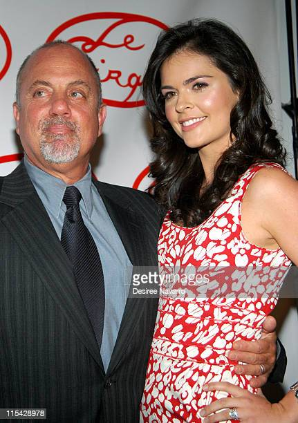 Billy Joel and Katie Lee Joel during Le Cirque Opening Party at One Beacon Court at One Beacon Court in New York City New York United States