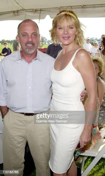 Billy Joel and Kim Cattrall during Mercedes-Benz USA and Kim Cattrall are hosting the opening day of Mercedes-Benz Polo Challenge at Bridgehampton...