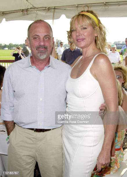 Billy Joel and Kim Cattrall during MercedesBenz USA and Kim Cattrall are hosting the opening day of MercedesBenz Polo Challenge at Bridgehampton Polo...