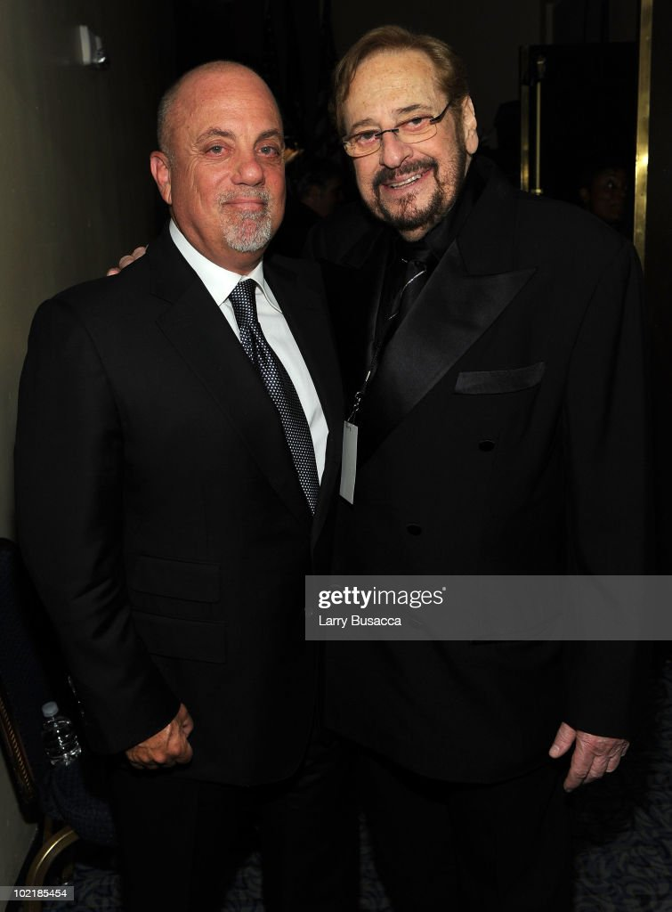 Billy Joel and producer Phil Ramone attend the 41st Annual Songwriters Hall of Fame Ceremony at The New York Marriott Marquis on June 17, 2010 in New York City.