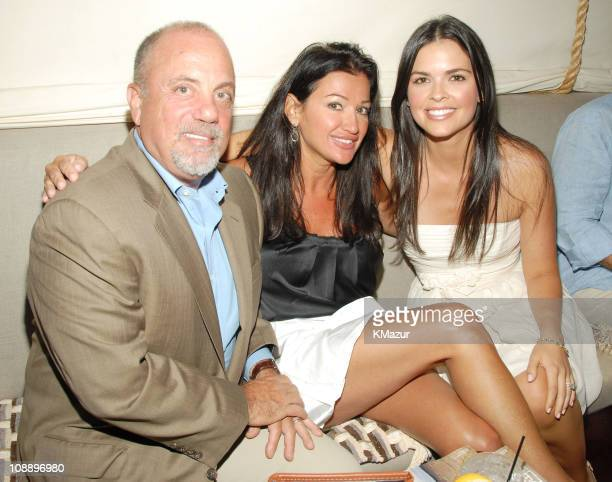 Billy Joel Claire Mercuri and Katie Lee Joel during Hamptons Magazine and Christopher Designs Celebrate with Hamptons Cover Star Katie Lee Joel at...