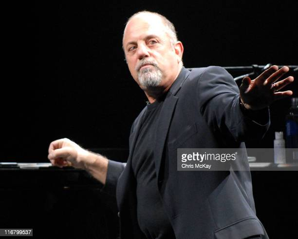 Billy Joel during Billy Joel in Concert at Philips Arena in Atlanta March 1 2007 at Philips Arena in Atlanta Georgia United States