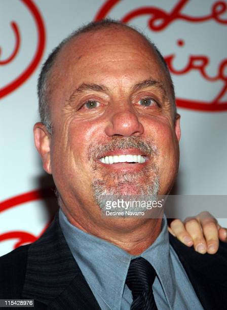 Billy Joel during Le Cirque Opening Party at One Beacon Court at One Beacon Court in New York City New York United States