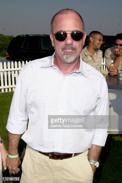 Billy Joel during Mercedes-Benz USA and Kim Cattrall are hosting the opening day of Mercedes-Benz Polo Challenge at Bridgehampton Polo Club in...