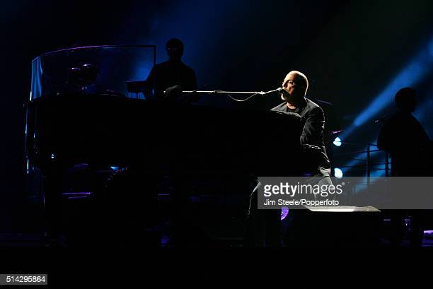 Billy Joel performing at Wembley Arena on July 10 2006 in London England