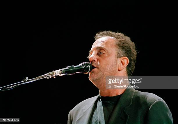 Billy Joel performing on stage at Earls Court in London circa May 1994