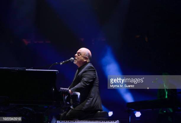 COVERAGE Billy Joel performs at 55th consecutive show of his residency at Madison Square Garden on August 23 2018 in New York City